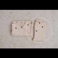 Konges Sløjd New Born Pants Deux - CHERRY BLUSH - 0-1 M
