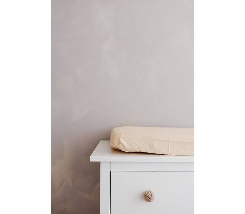 Konges Sløjd FITTED SHEETS FOR CHANGING CUSHION - SAND