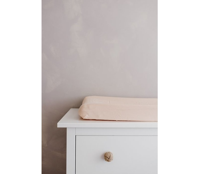 Konges Sløjd FITTED SHEETS FOR CHANGING CUSHION - ROSE DUST