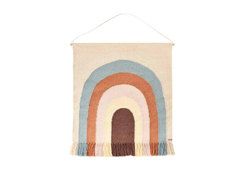 OYOY OYOY - Follow The Rainbow Wall Rug (showroom model outlet)