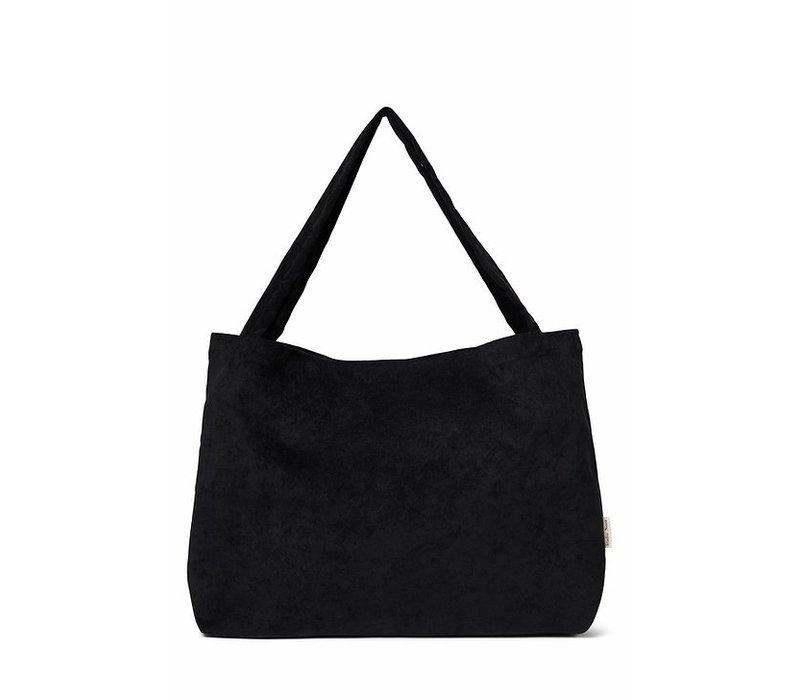 STUDIO NOOS Mom Bag - All Black Rib