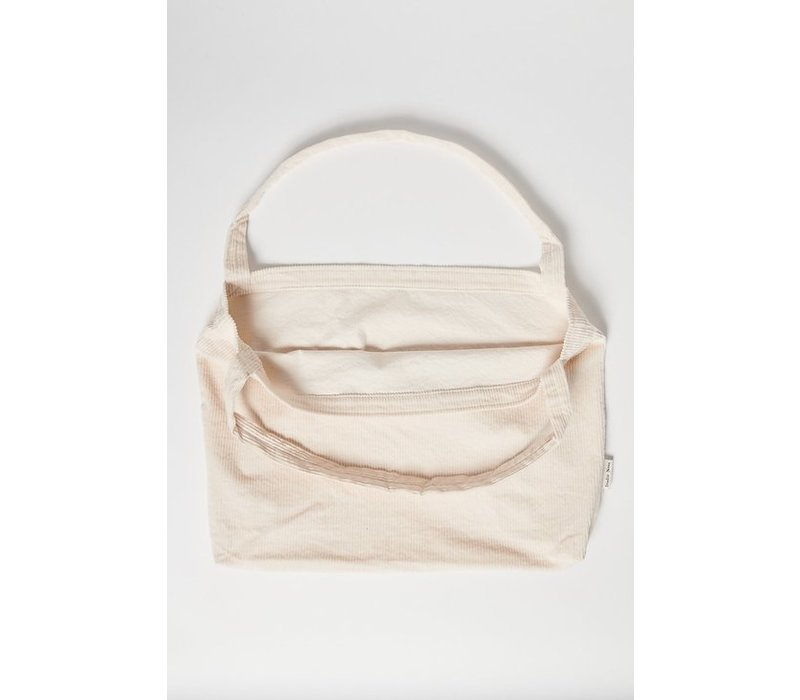 STUDIO NOOS Mom Bag - Old white Rib