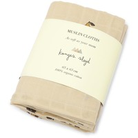 Konges Sløjd MUSLIN CLOTHS - Poire - 3 PACK