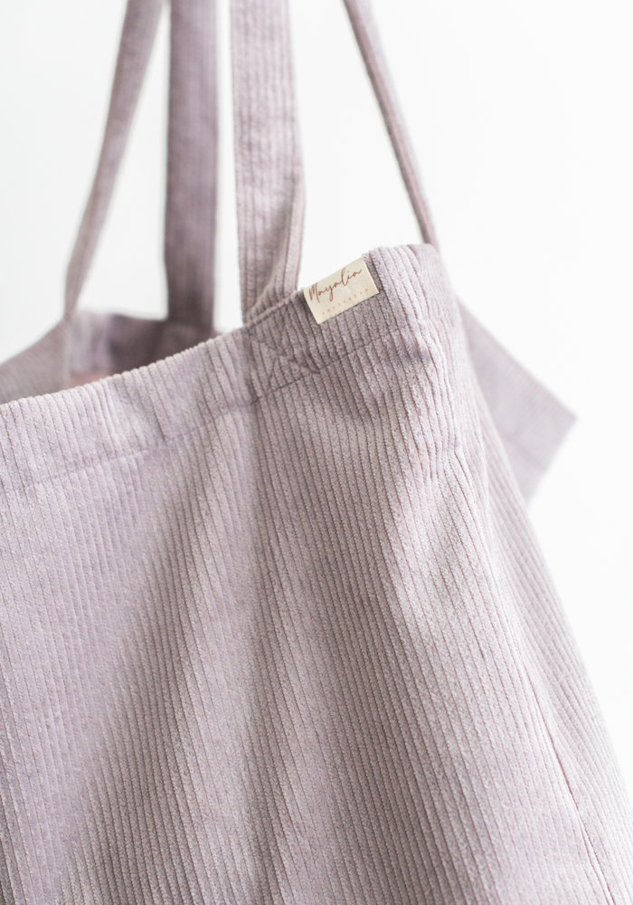 MAYALIA On The Road Bag Velvet Rib – GALAXY LILA