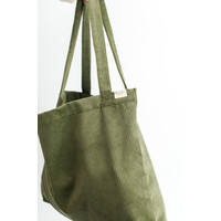 MAYALIA On The Road Bag Velvet Rib – OLIVE GREEN