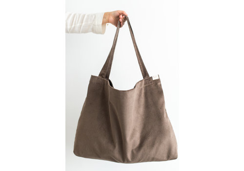 Mayalia MAYALIA On The Road Bag Velvet Rib – MOCCA BROWN