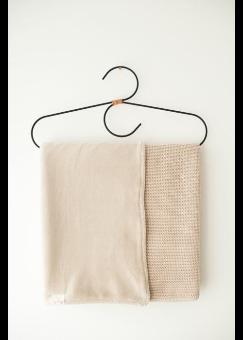 Mayalia MAYALIA Blanket Knit Teddy - SOFT TAUPE