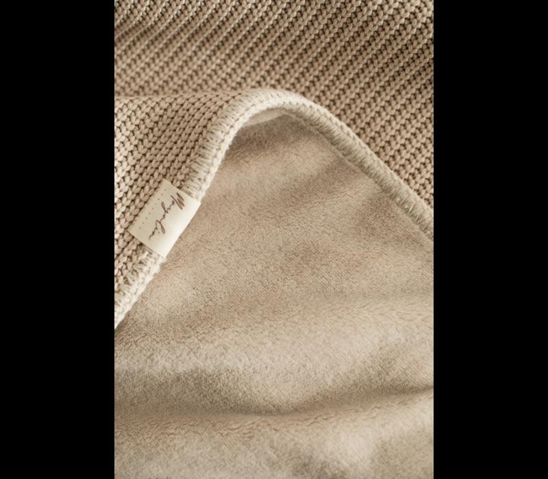 MAYALIA Blanket Knit Teddy - SOFT TAUPE