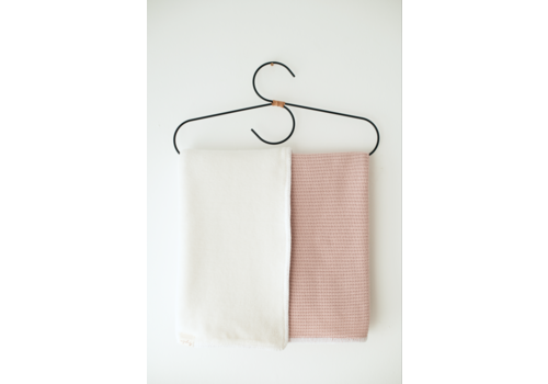 Mayalia MAYALIA Blanket Knit Teddy - SOFT PINK