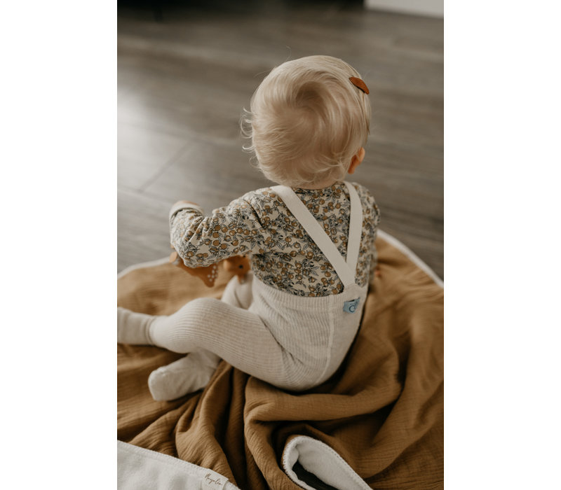 MAYALIA Blanket Muslin Teddy - KASJMIR