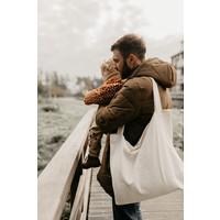 MAYALIA On The Road Bag Velvet Rib – OFF-WHITE