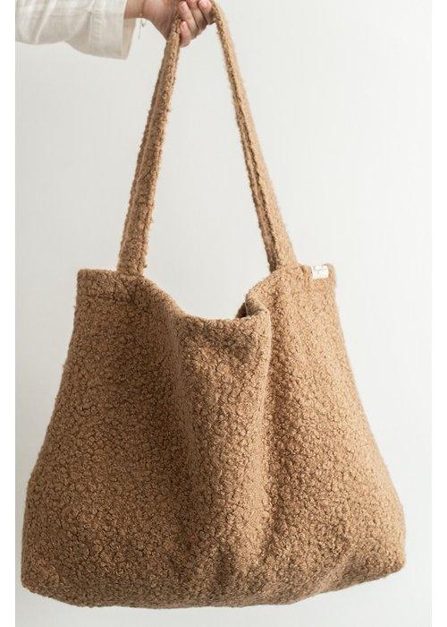 Mayalia MAYALIA On The Road Bag Woolly – CARAMEL