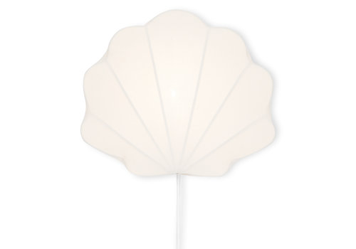 Konges Sløjd Konges Sløjd Fabric Shell Lamp Clam - OFF WHITE