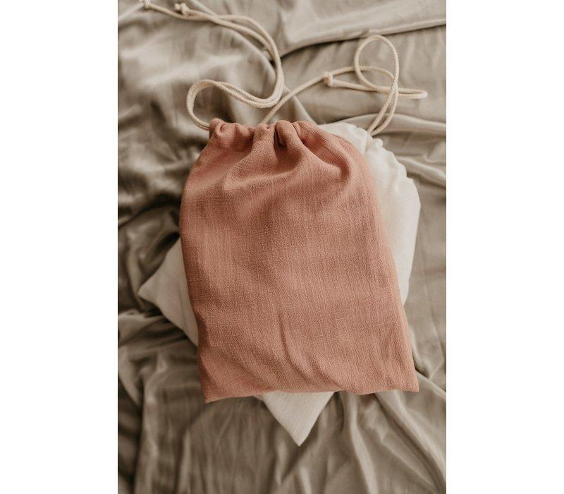 MAYALIA Breastfeeding Cover - LINEN VINTAGE PINK