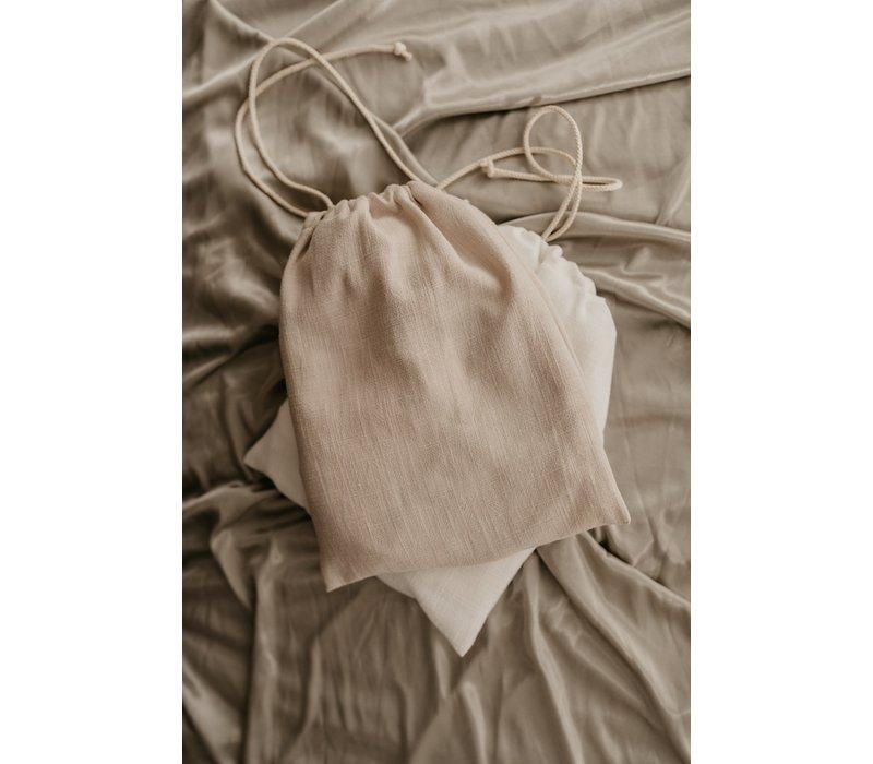 MAYALIA Breastfeeding Cover - LINEN SOFT TAUPE