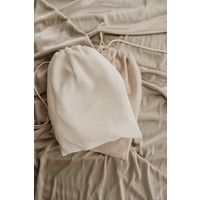 MAYALIA Breastfeeding Cover - LINEN VINTAGE OFF WHITE