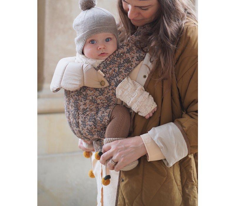 Konges Sløjd Nola Baby Carrier Draagzak -  ORANGERY BEIGE