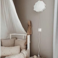 Konges Sløjd Fabric Shell Lamp Clam - OFF WHITE