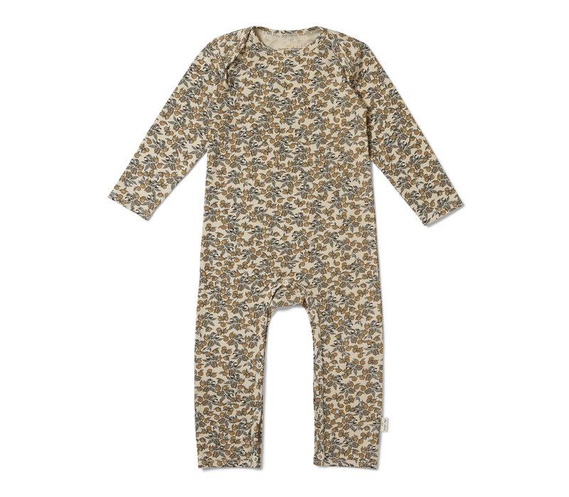 Konges Sløjd Hygsoft Pyjama - ORANGERY BEIGE
