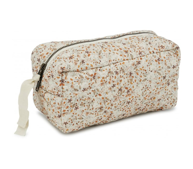 Konges Sløjd Small Quilted Toilettry Bag - FLOWER FIELD