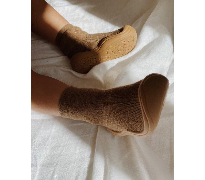 Konges Sløjd Sock Slippers - WALNUT