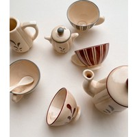 Konges Sløjd Tea Set - MULTI CERAMIC