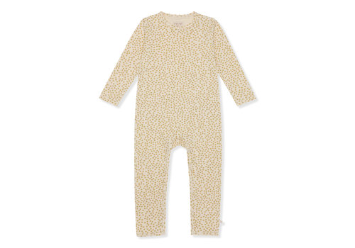 Konges Sløjd Konges Sløjd Hygsoft Pyjama (Basic Onesie) - BUTTERCUP YELLOW