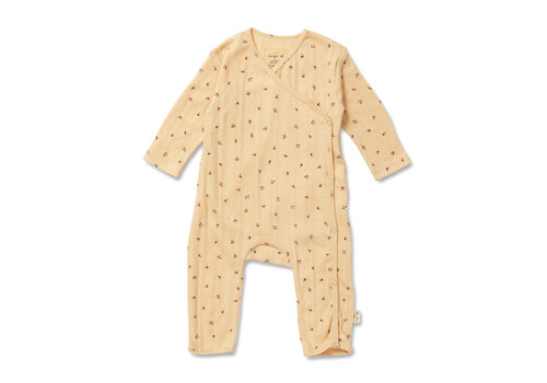 Konges Sløjd Konges Sløjd Minnie Onesie - BLOOM RED/BLUE