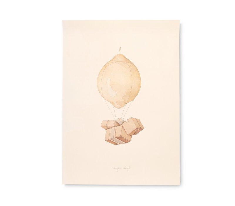 Konges Sløjd Poster - AIR BALLOON
