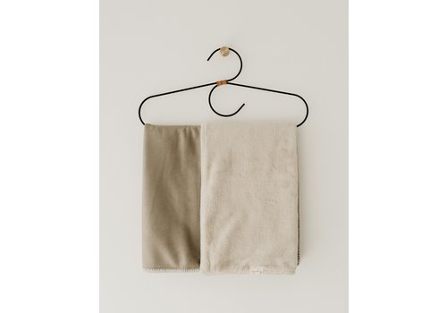 Mayalia MAYALIA Blanket Silk Suede Teddy - MEDINA