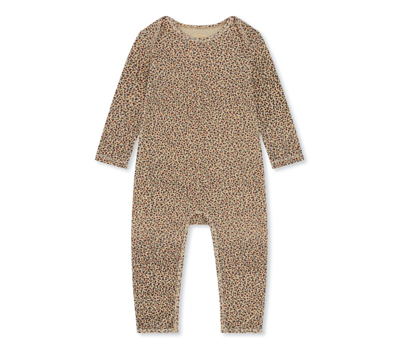 Konges Sløjd Hygsoft Pyjama (Basic Onesie) - ROSARAIE RED