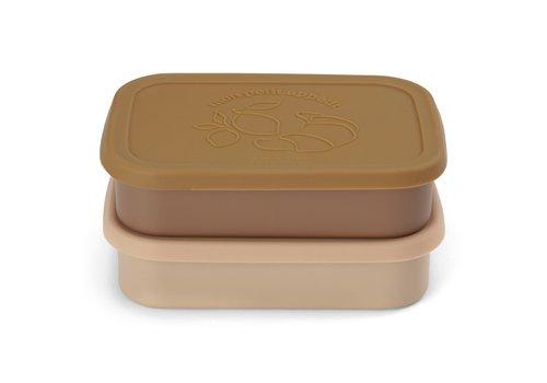 Konges Sløjd Konges Sløjd Food Boxed Lid - ROSE - 2 PACK