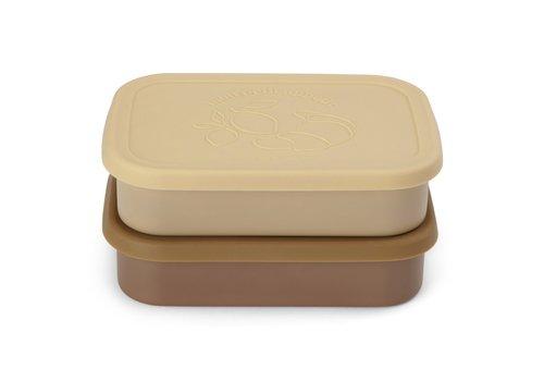 Konges Sløjd Konges Sløjd Food Boxed Lid - VANILLA - 2 PACK