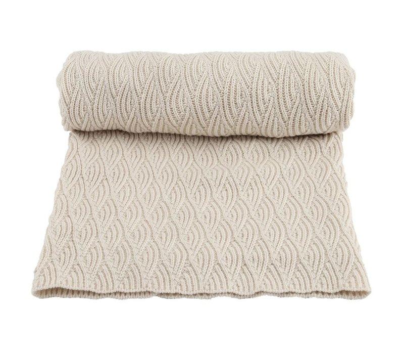 Konges Sløjd Blanket Pointelle - OFF WHITE