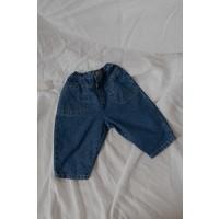 KOREAN WEAR 201 Jeans - DARK BLUE