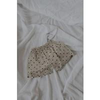 KOREAN WEAR  Bazz Linen Shorts - DOTS