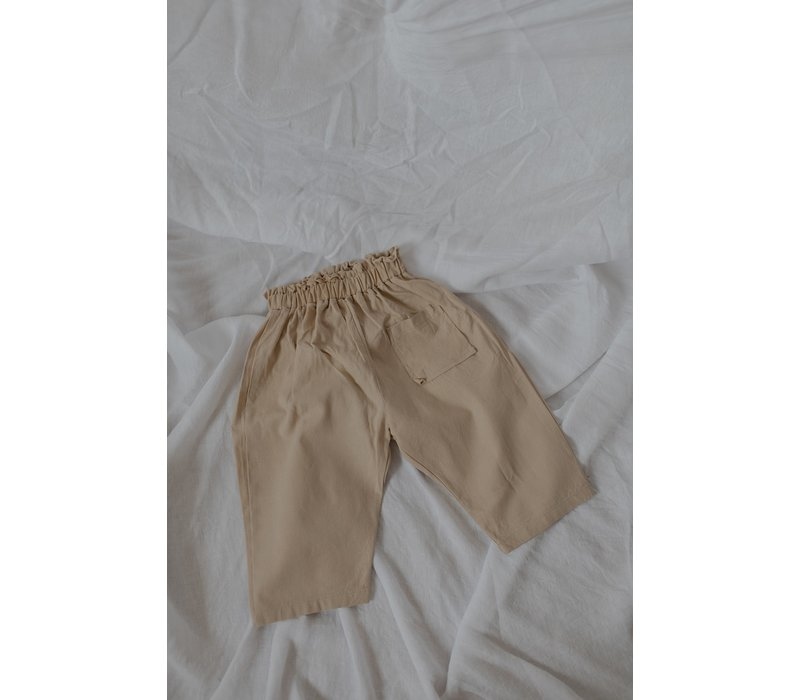 KOREAN WEAR Beton Pants - BROWN