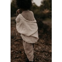 KOREAN WEAR Linen Jumpsuit - BROWN