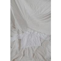 KOREAN WEAR Boxy Shirt - WHITE