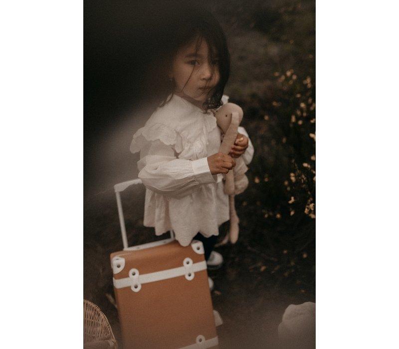 KOREAN WEAR Romantic Blouse - CREAM