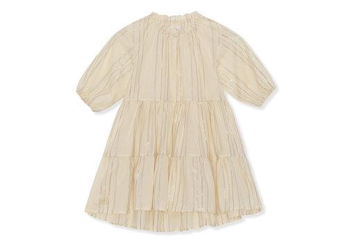 Konges Sløjd Konges Sløjd Fiji Dress - CHAMPAGNE/MULTI LUREX