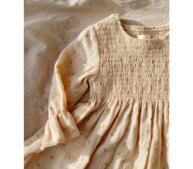 Konges Sløjd Zalie Sleeve Dress - MANDARIN