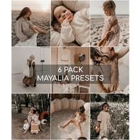 Mayalia Mobile Preset - SUMMER ROSE - 6 PACK