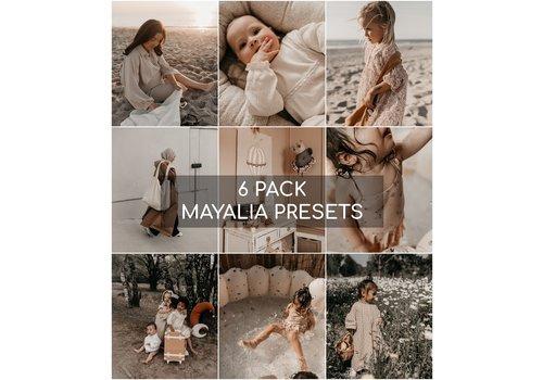 Mayalia Mayalia Mobile Preset - SUMMER ROSE - 6 PACK