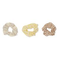 Konges Sløjd Scrunchies Small - 3 pack LEMONADE/BLAZING/LYREX