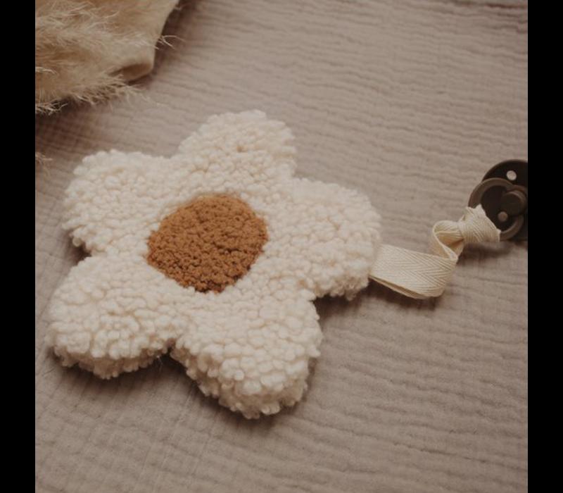 Moon & Maya Speenknuffel - DAISY WHITE
