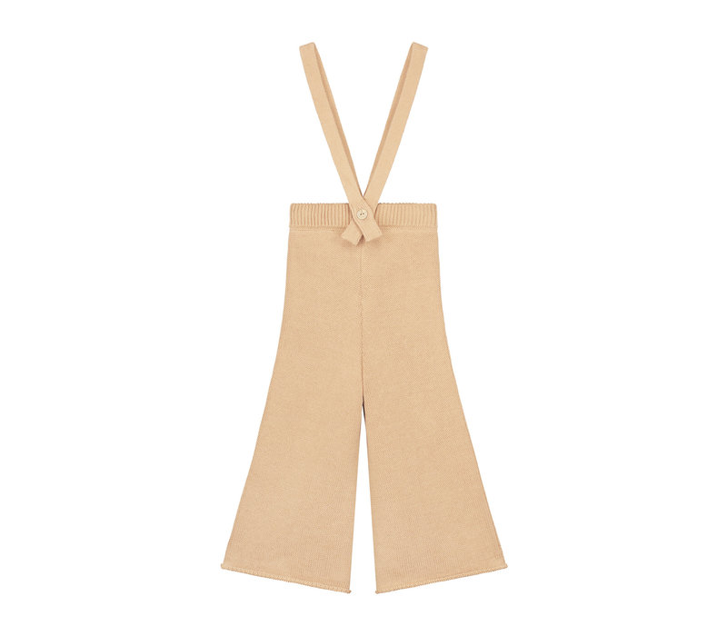 YUKI Knitted Trousers (removable straps) - OATH