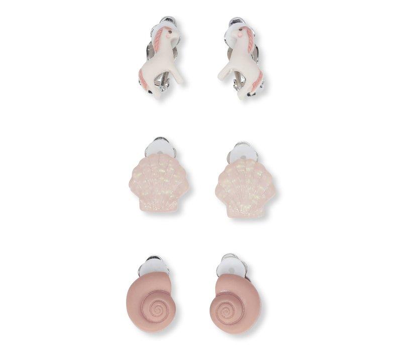 Konges Sløjd 3 Pack Ear Clips - UNICORN