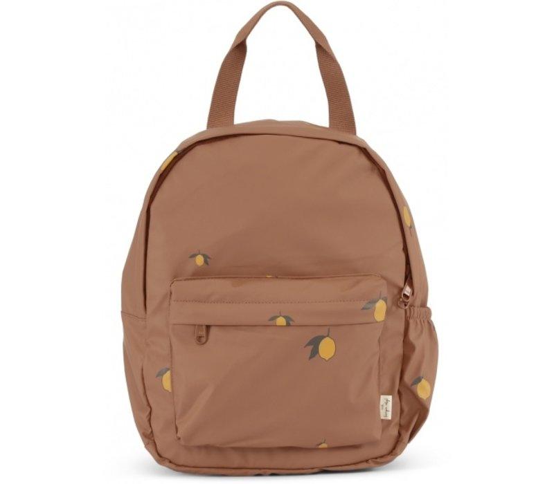 Konges Sløjd Rain Kids Backpack Mini - LEMON BROWN