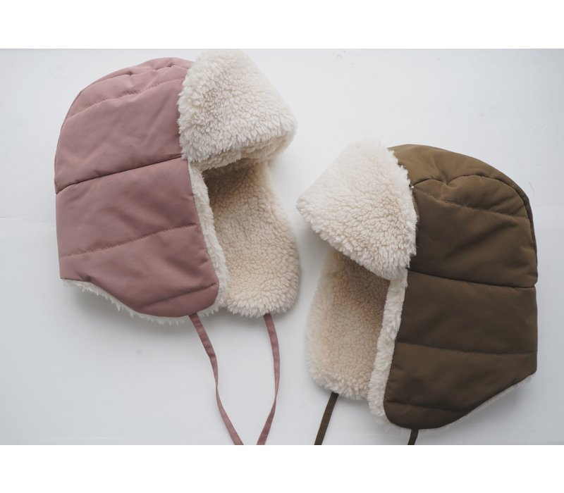 Konges Sløjd Nohr Snow Hat - BEECH